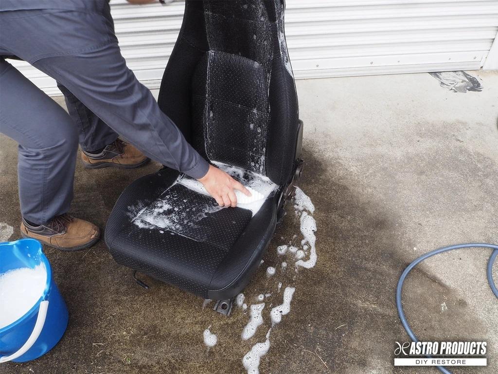シートの丸洗い