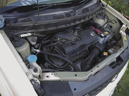 エンジンをかけて動作チェック